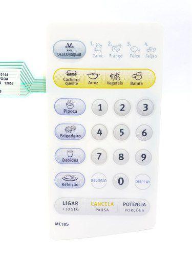 Membrana Painel Microondas Electrolux Me18s 69580898 Orig.