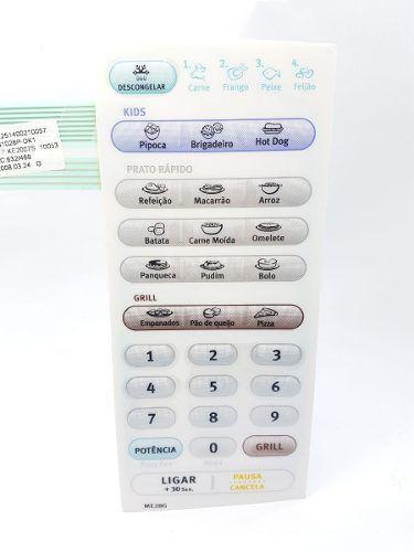Membrana Painel Microondas Electrolux Me28g 69580672 Orig.