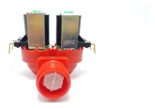 Válvula Dupla 220v Lavadora Electrolux Ltc07 70300022 Orig.