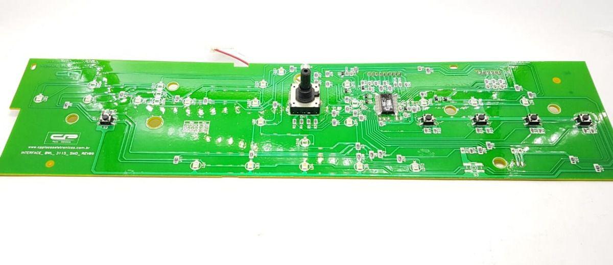 Interface Compatível Bwl11 Brastemp V3 W10356413 Cp1463
