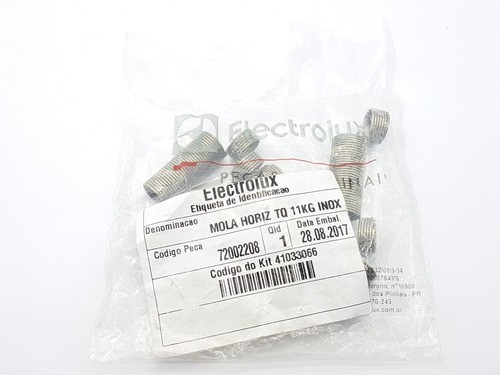 Kit 4 Molas Suspensão Electrolux 6 A 15kg 72002208 65158601
