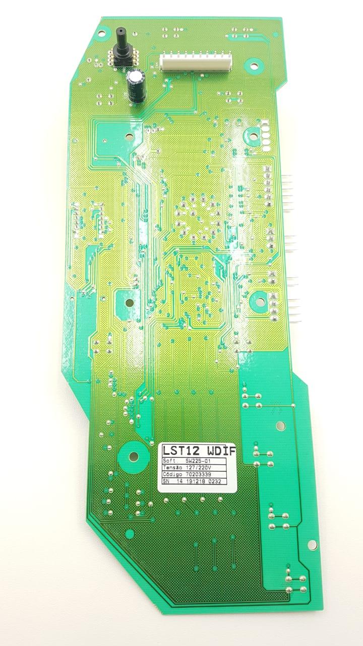 Placa De Interface Lavadora Electrolux Lst12 70203339 Orig.