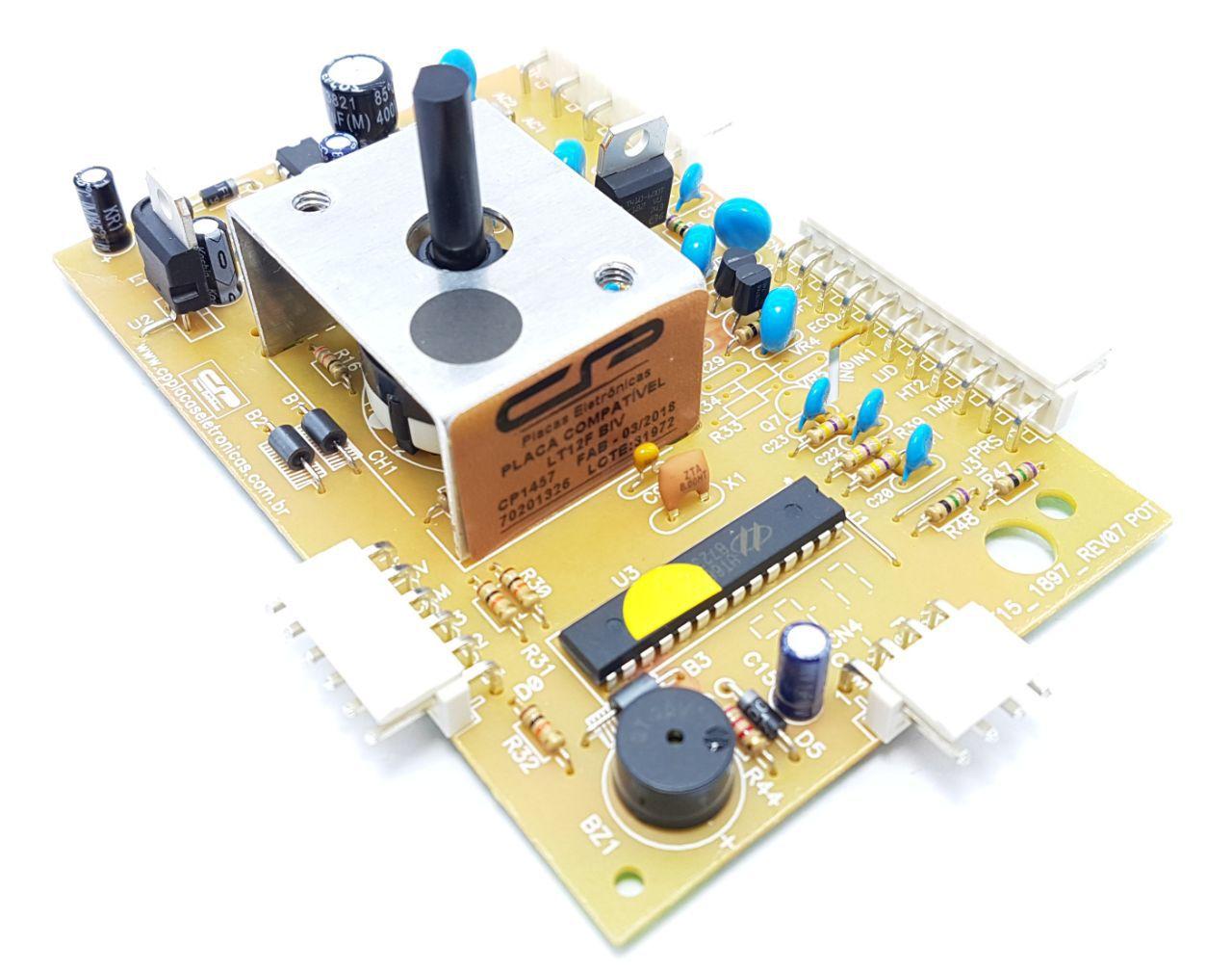 Placa Eletrônica Compatível  Electrolux Lt12f 70201326 Bivolt Cp1457