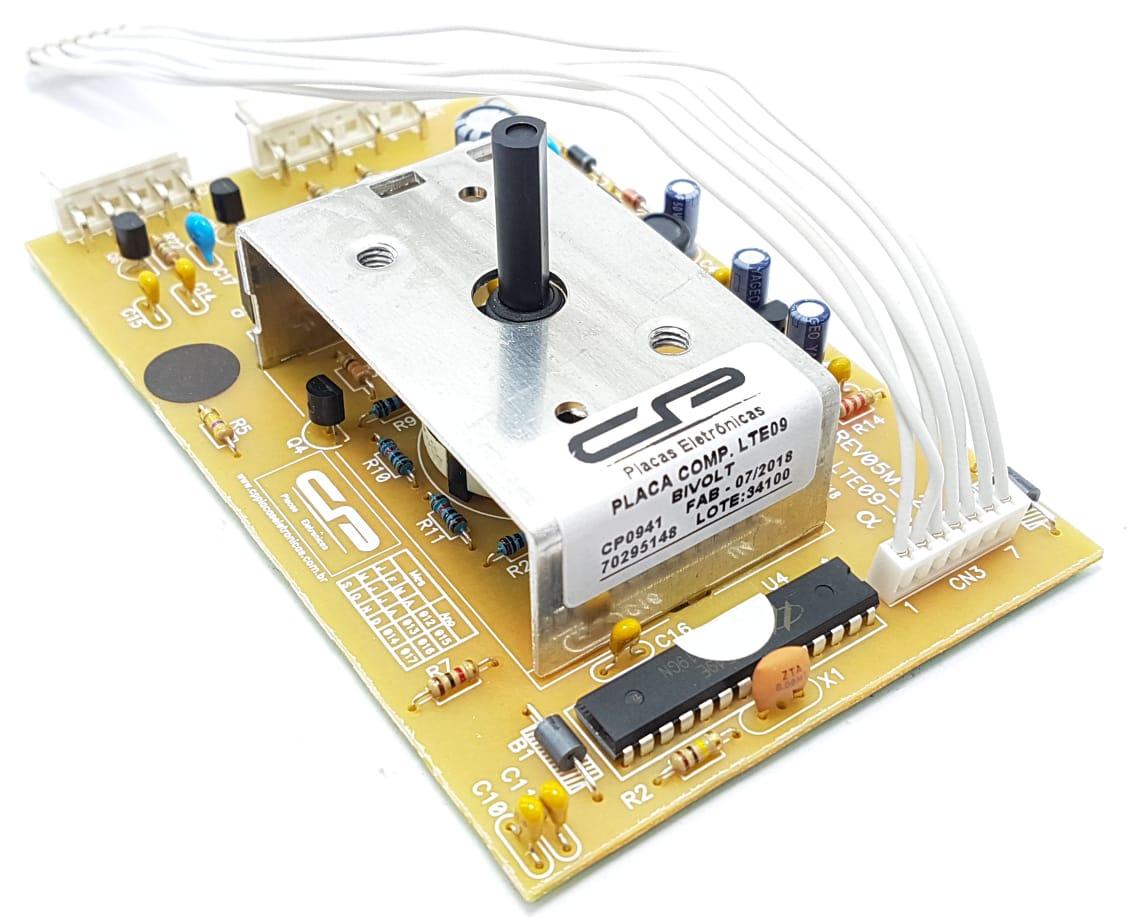 Placa Eletrônica Compatível Electrolux Lte09 70295148 Bivolt Cp0941