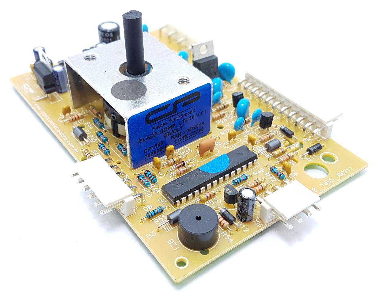 Placa Eletrônica Electrolux Compatível Ltc10aw 70200646 Bivolt Cp1433