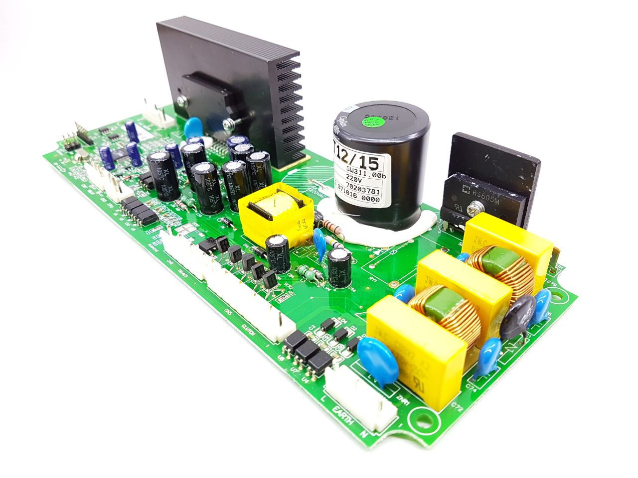 Placa Eletrônica Electrolux Lst12 Lsw15 70203781 Orig. 220v