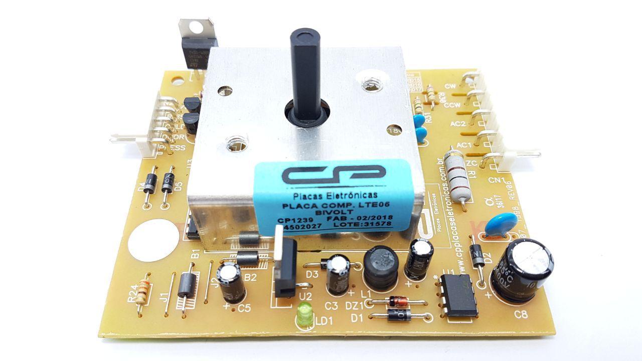 Placa Eletrônica Electrolux Lte06 64502027 Bivolt Cp1239