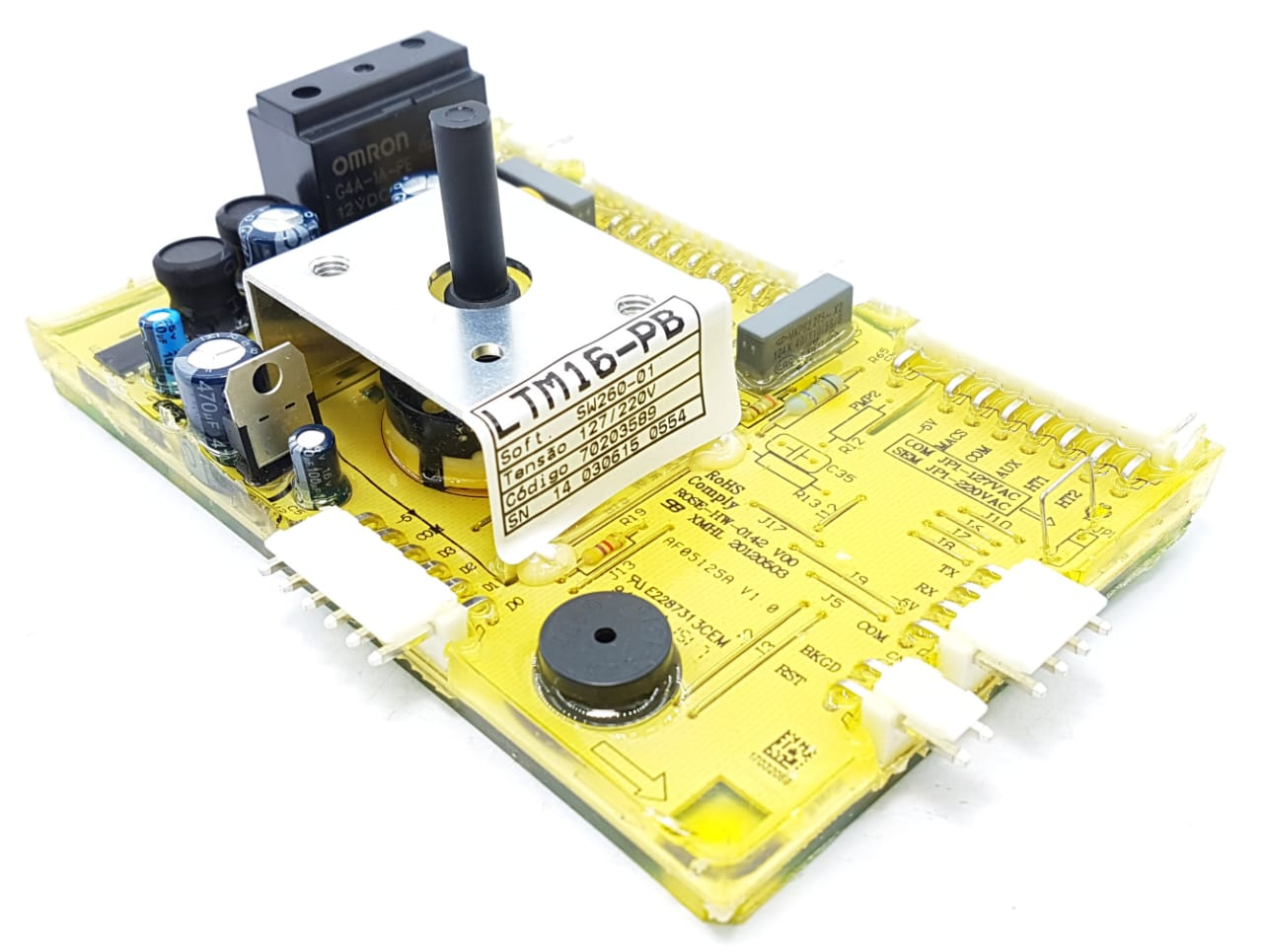 Placa Eletrônica Electrolux Ltm16 70203589 Original Bivolt