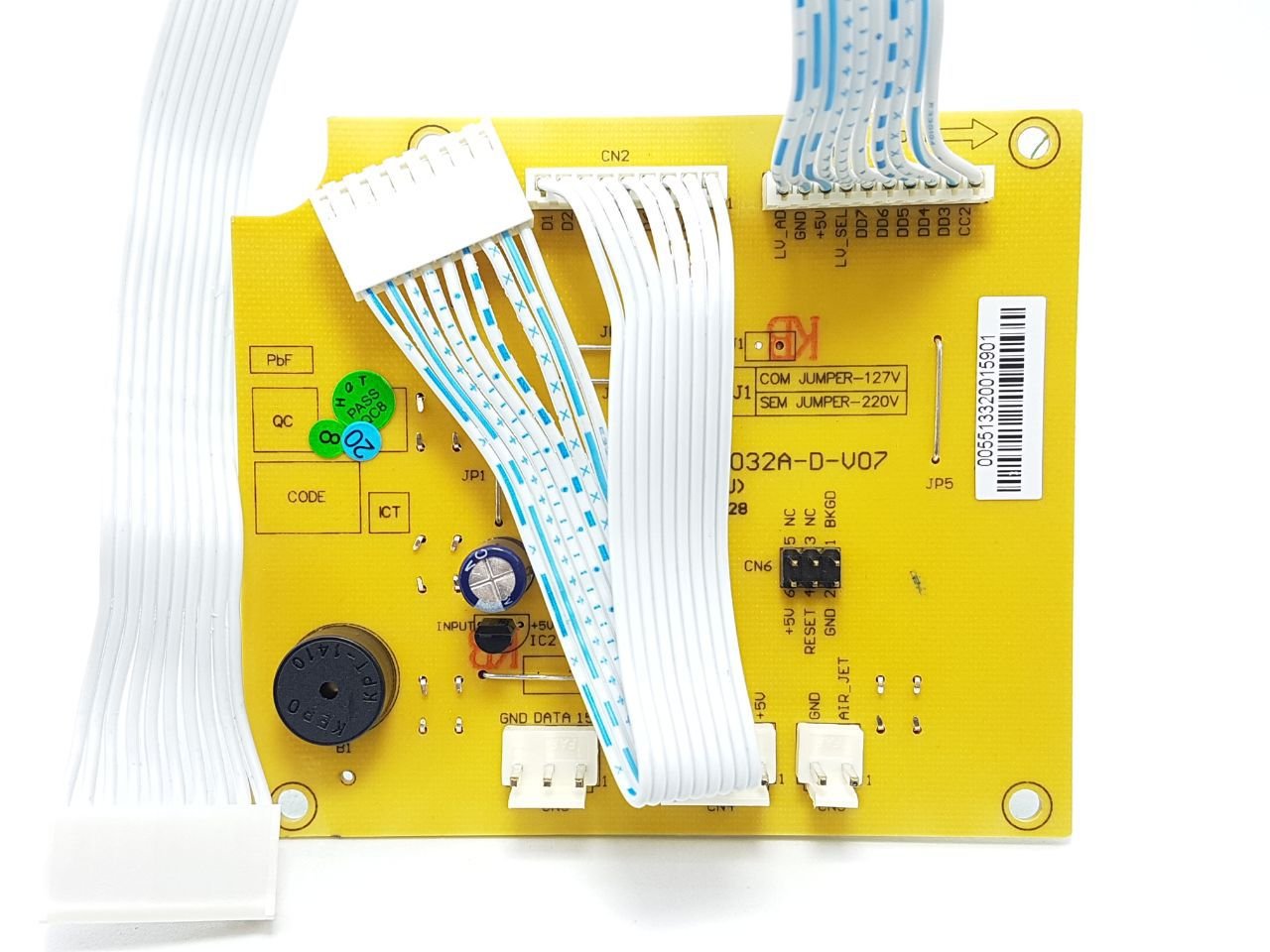Placa Interface Electrolux Lta15 64800260 Original