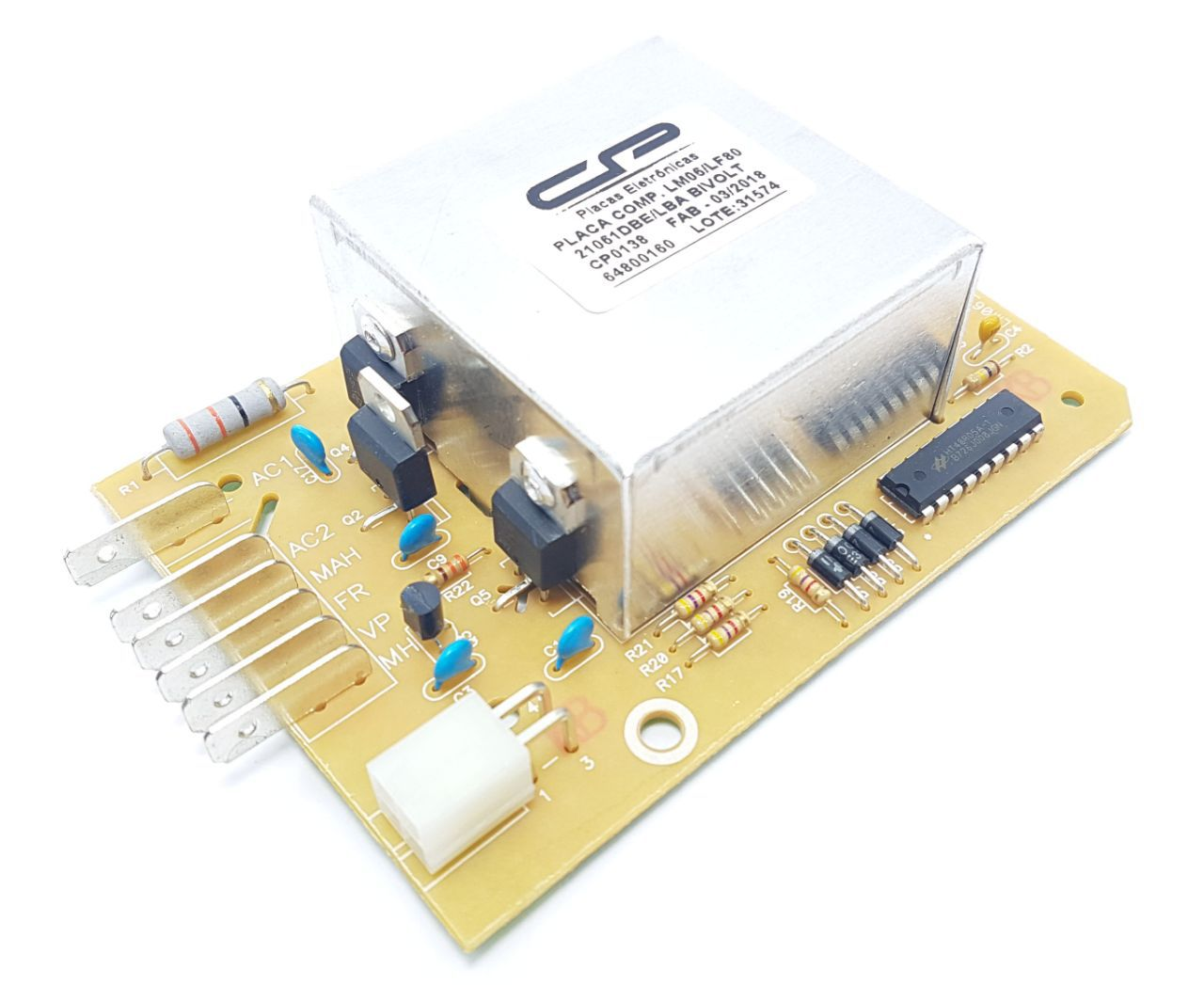 Placa Lavadora Electrolux Compatível Lm06 Lf80 64800160 Bivolt Cp0138