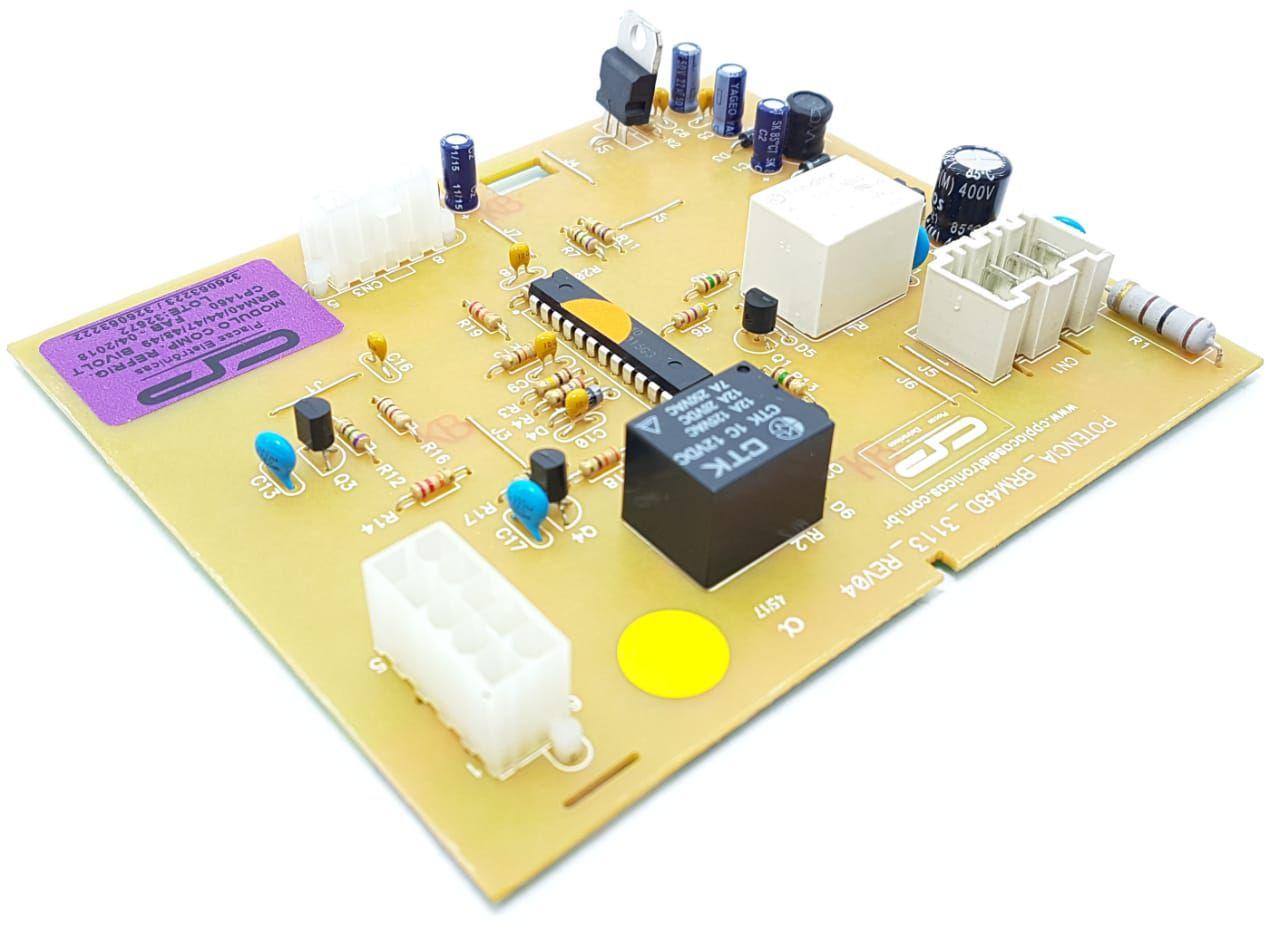 Placa Módulo Compatível Brastemp Brm40 Brm44 Brm47 Brm48 Brm49 Biv. Cp1460