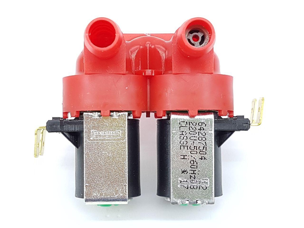 Válvula Água Electrolux Dupla 220v Lt11f Lt12f Orig 64287504