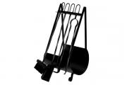 Conjunto De Limpeza Para Lareira C/ Porta Lenha Artmill
