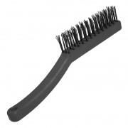 Escova de aço para limpar grelhas e espeto