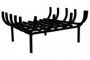 Grelha Para Lareira De Canto 40x30cm - Artmill