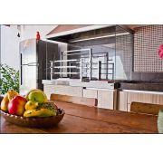 Grill Elevatório Gourmet Premium 60x50 Inox 304 Jx Metais