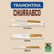 KIT PARA CHURRASCO TRAMONTINA 3 PEÇAS