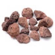 Pedra Vulcânica Marrom para Lareira ou Churrasqueira Pacote 2kg