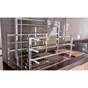 Suporte Elevatório Premium Med. 70x50 Inox 304 Jx Metais