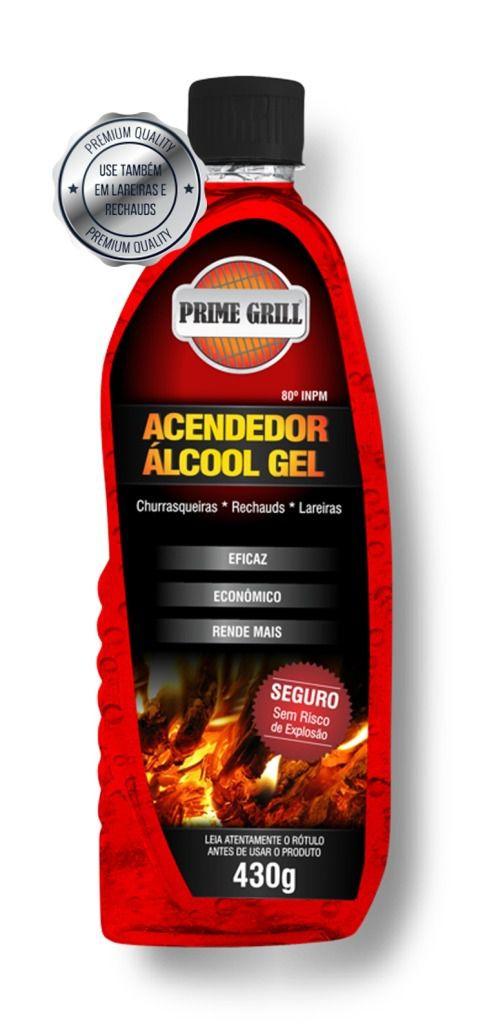 ACENDEDOR DE CHURRASQUEIRA ALCOOL GEL - 430 grs