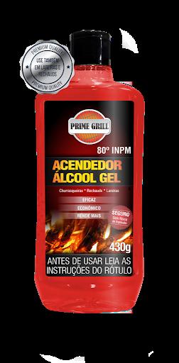 ACENDEDOR DE CHURRASQUEIRA EM ALCOOL GEL 430 grs - PRIME GRILL