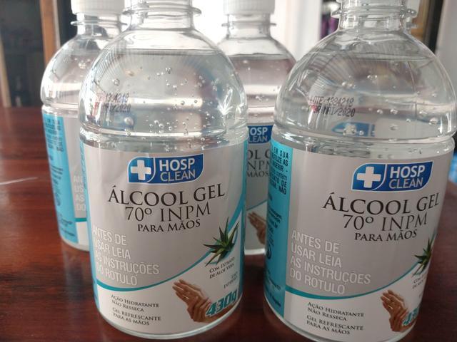 Alcool Gel 70 para mãos - Hosp-Clean 430g