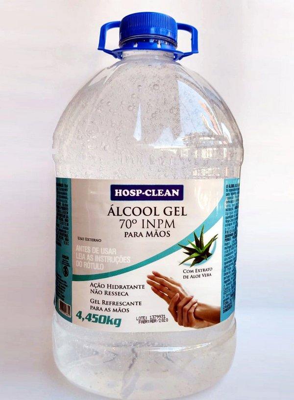 Alcool Gel 70 para mãos - Hosp-Clean 4,3kg