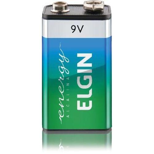 Bateria 9v Alcalina C/1 unidade - ELGIN Ht01 82158