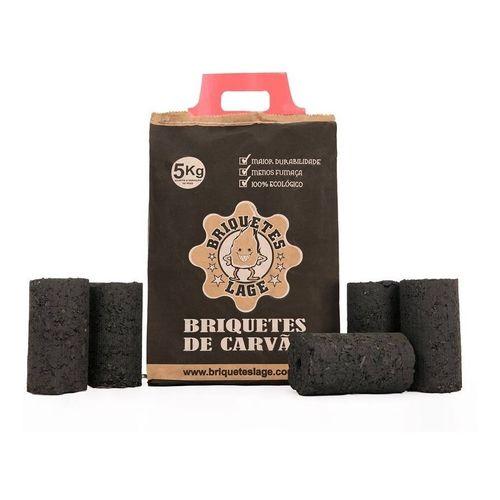 Carvão de Briquete Gourmet saco com 5KG