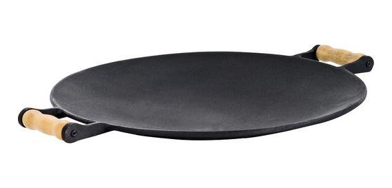 Chapa para churrasco em ferro fundido Disco de arado - 45 Cm