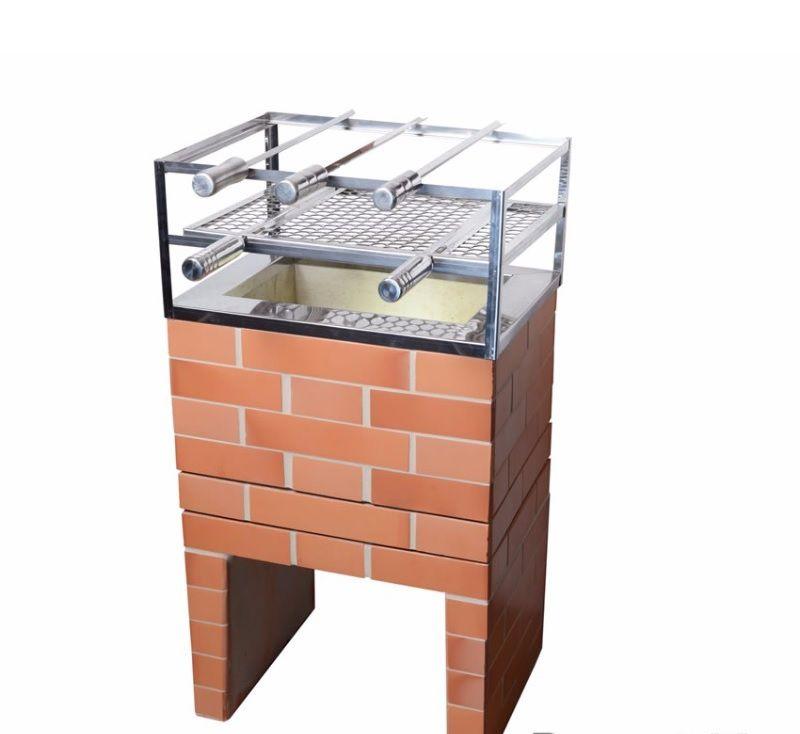 Churrasqueira de concreto Mini - 45cm