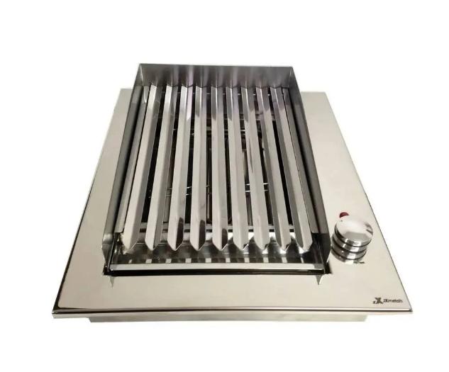 Churrasqueira Eletrica Inox 304 ARGENTINA 40x47 - 127V JX METAIS