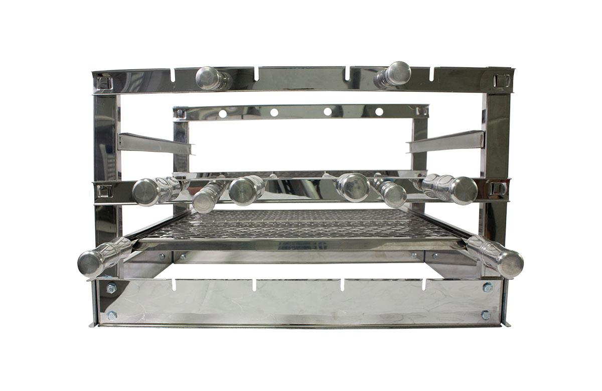 Churrasqueira Grill inox 48x45cm