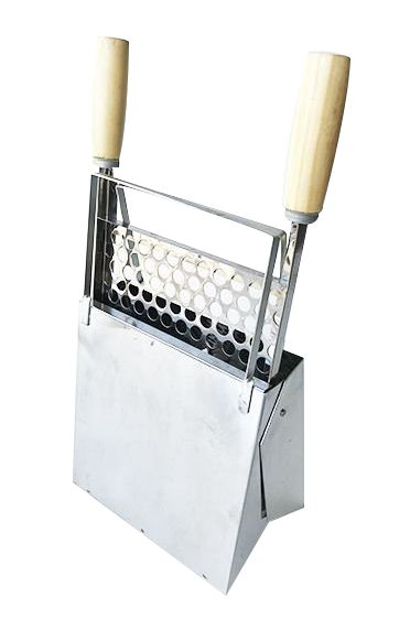 Churrasqueira Portátil Dobrável Compacta - Inox