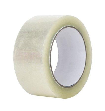 Fita Adesiva Transparente Para Embalagens E Uso Geral 45mm X 40m - 04 Unidades