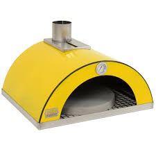 Forno de pizza para churrasqueira - Cor amarelo