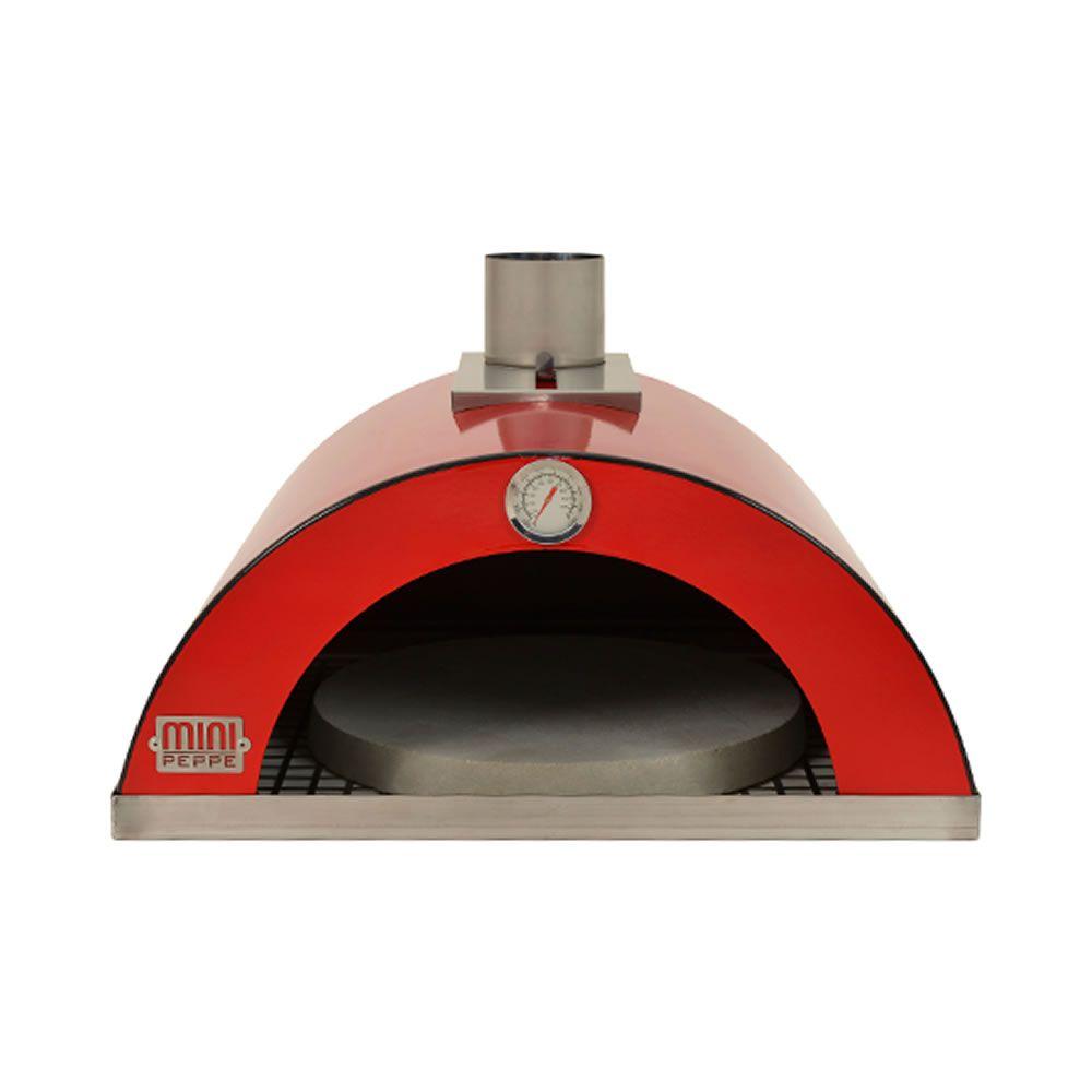 Forno de pizza para churrasqueira - Cor vermelho