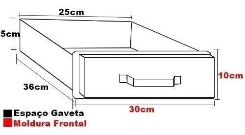 Gaveta Cinzeiro Aço Inox Churrasqueira Alvenaria 25 x 36cm
