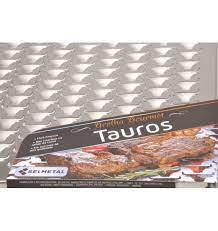 Grelha para churrasco INOX modelo TAURUS 50 x 50