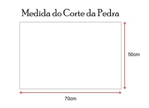 KIT BRASEIRO COOKTOP 70x50 + SUPORTE GRELHA ESPETO INOX 430