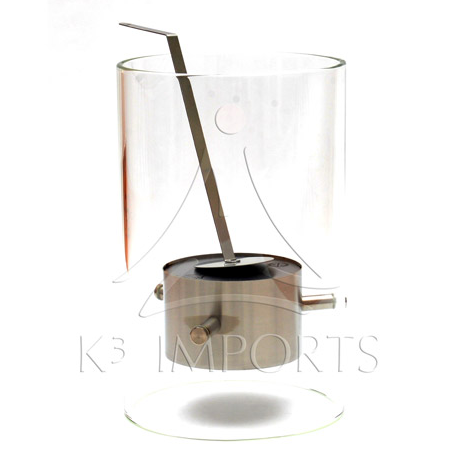 LAREIRA A ALCOOL EGOLOGICA MODELO MISTI 26cm - K3
