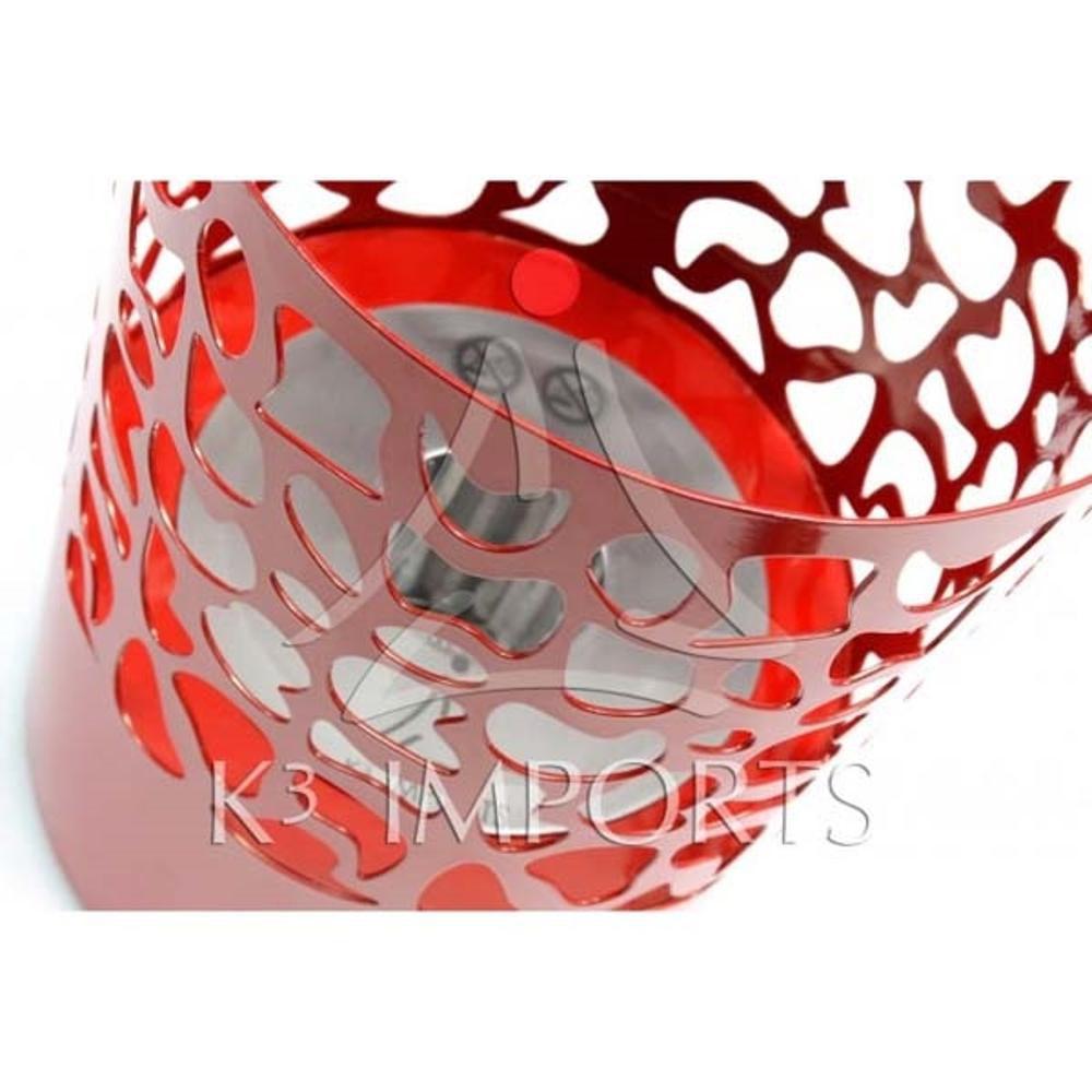 Lareira Ecológica À Álcool (Etanol) Modelo Piton Vermelha