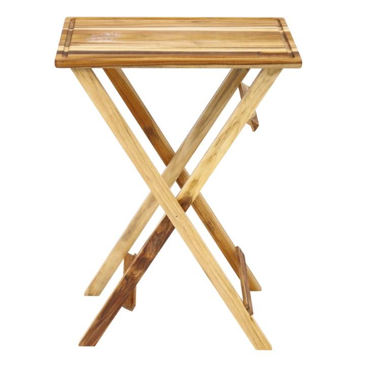 Mesa para churrasco dobrável e desmontável - Stolf