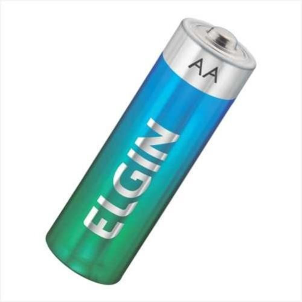 Pilha Alcalina AA blister com 4 Unidades - ElGIN