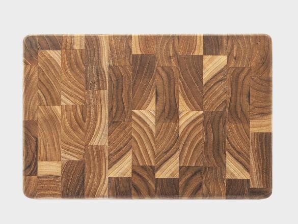 Tábua Multiuso Madeira Invertida Retangular 30x20cm Stolf