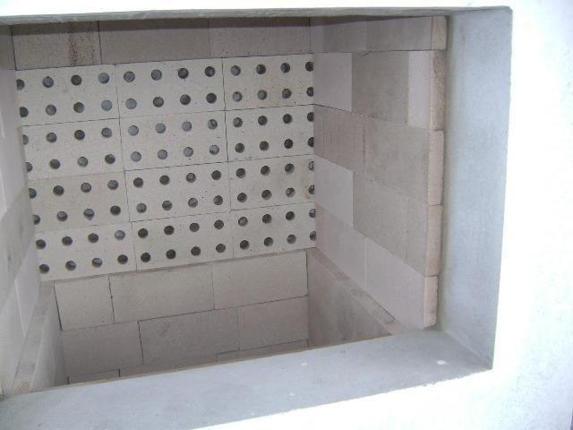 Tijolo Refratário Liso kit com 10 unidades de 11,5x23x5cm