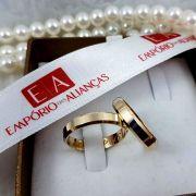 Alianças de Ouro 18k Casamento