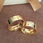 Par de Aliança Ouro 10k Noivado Casamento