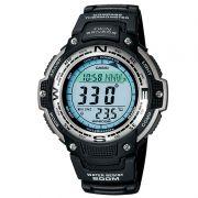 Relógio Casio Masculino Digital Resina Preto Cronógrafo Altímetro Barômetro SGW-100-1VDF