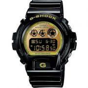 Relógio Casio Masculino G-Shock Digital Resina Preto Cronógrafo DW-6900CB-1DS
